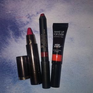 Bold Lip Bundle: Hourglass, Nudestix, Makeup 4ever
